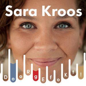 Sara Kroos bij de CD Perserij